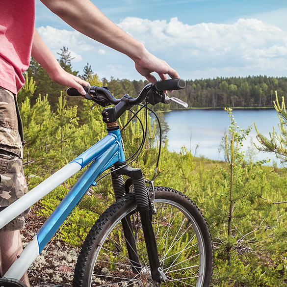 Cycle on your Lake Saimaa spa vacation
