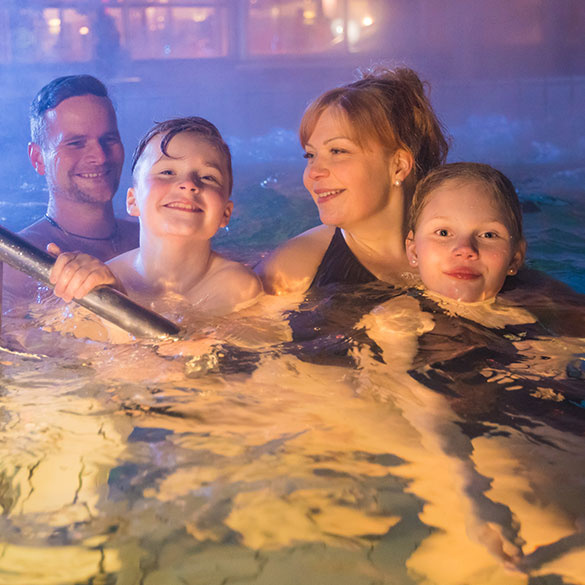 Imatra Spa has a year-round heated outdoor pool