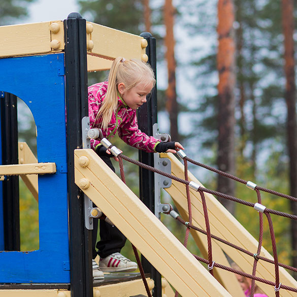 There is a very nice playground in Imatra Spa