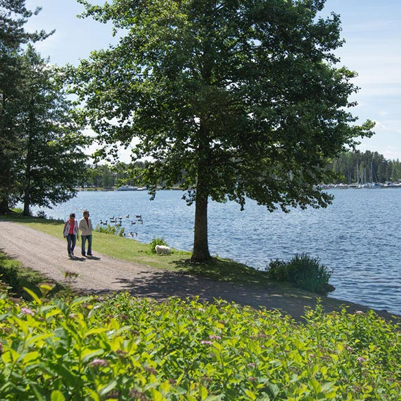 Enjoy Lake Saimaa on your spa vacation